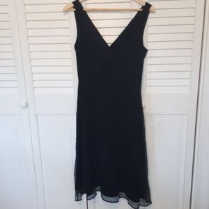 100% Silk J. Crew party dress.